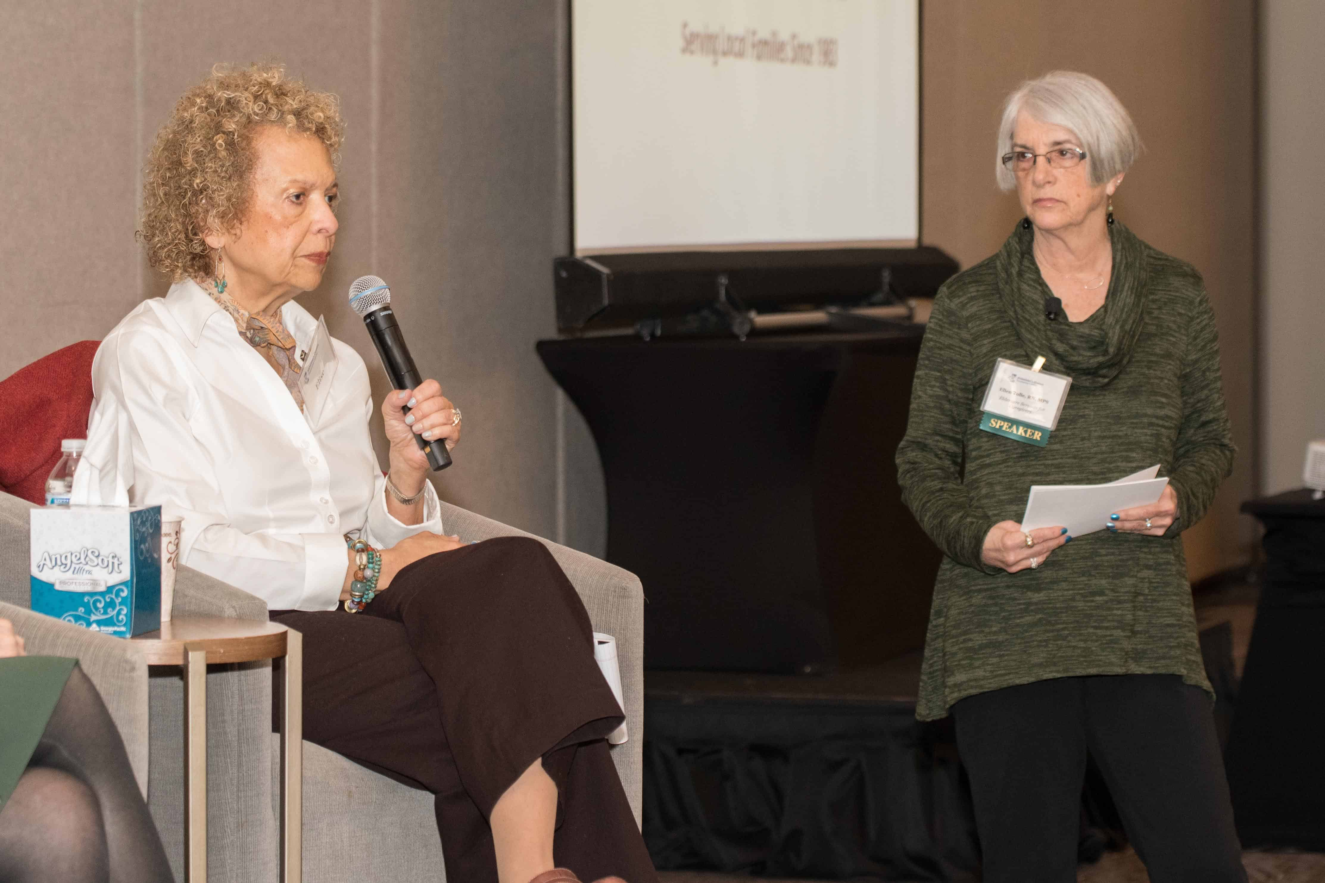 Alzheimer's caregivers shared their perspectives and experience.