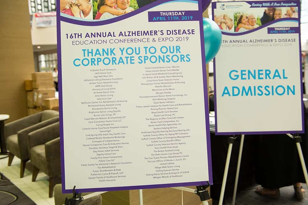 Our amazing sponsors make ADRC's Education Conference & Expo possible!