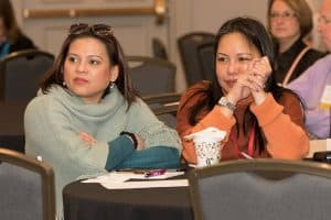 Conference content engages audience members